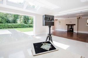 matterport tablette et camera