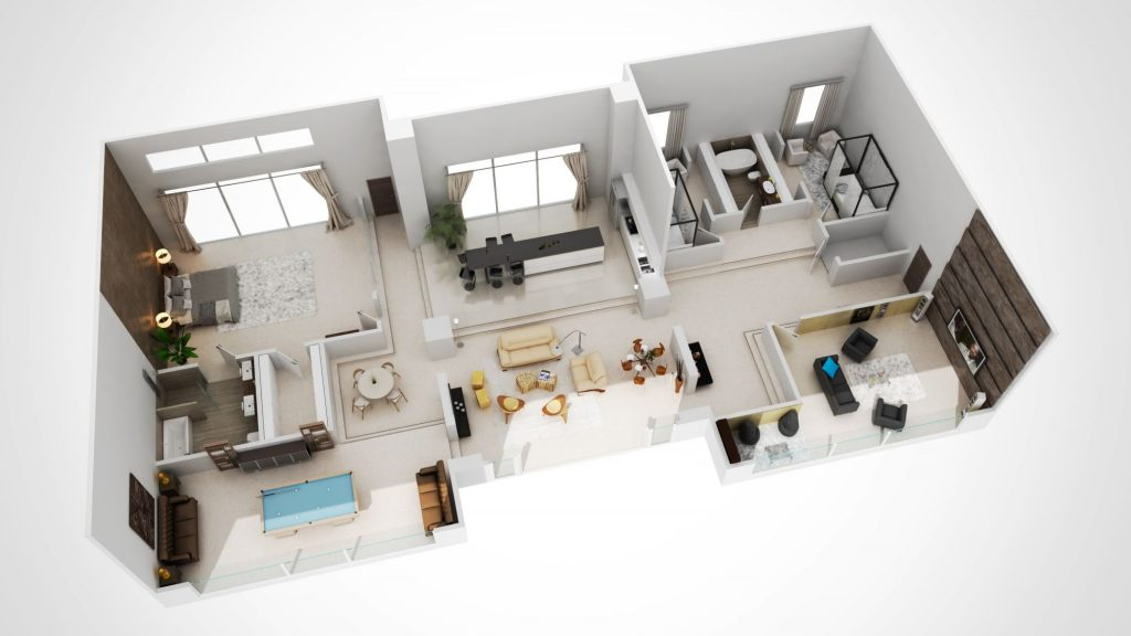 3DCREATION 3d plan immobilier