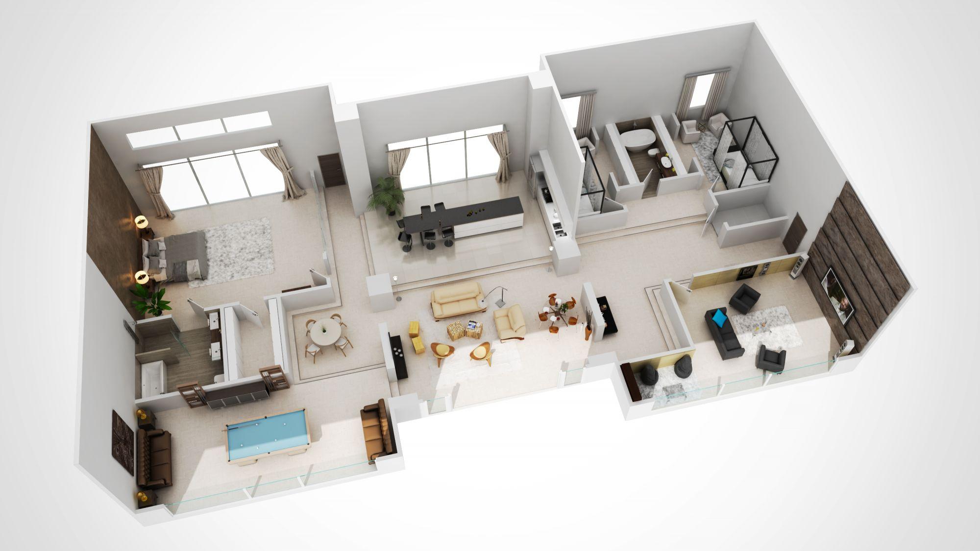 3DCREATION 3d plan immobilier