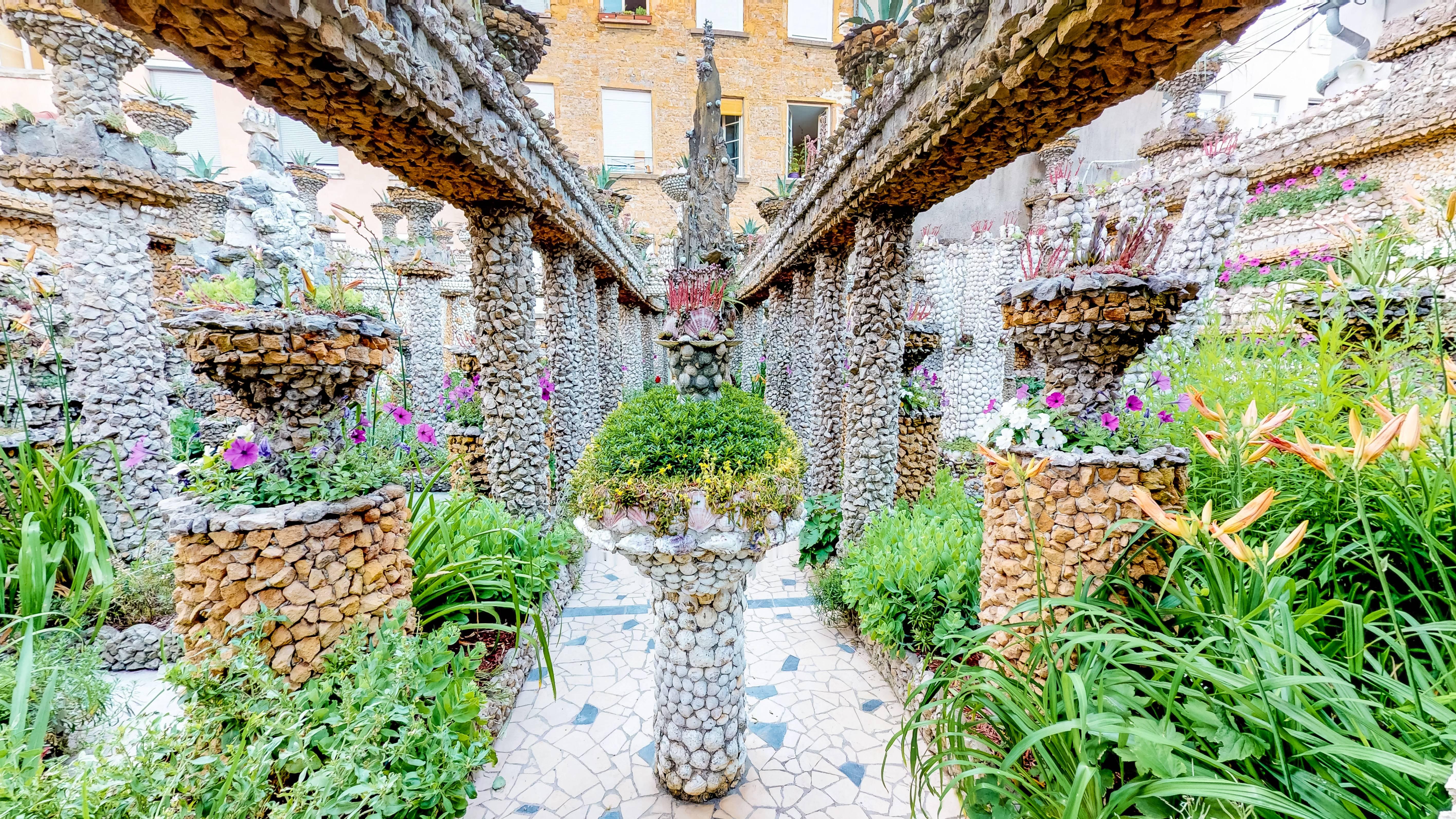 Journees Du Patrimoine Lyon Visite Virtuelle Du Jardin Rosa Mir